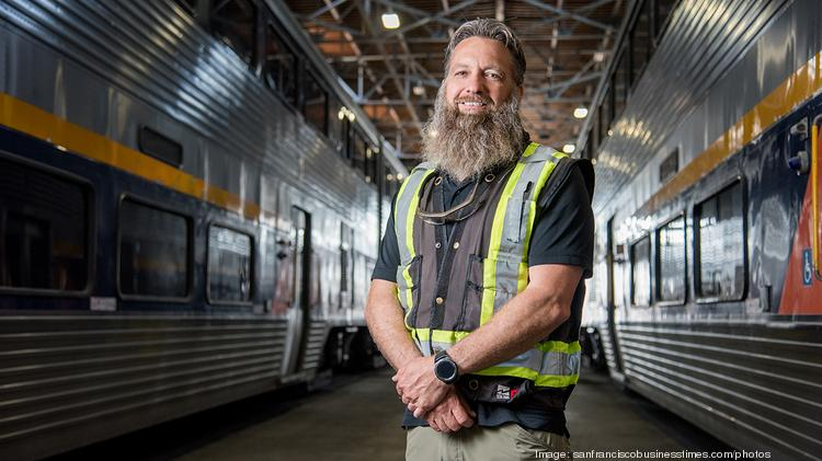 Shawn Gavne, site manager at Alstom  TODD JOHNSON | SAN FRANCISCO BUSINESS TIMES