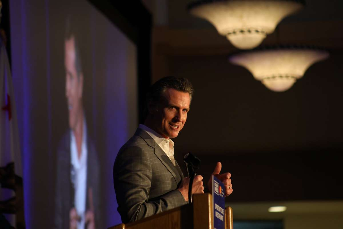 Newsom is embracing the program, even though it's one that the Trump administration championed as part of the 2017 tax cut law.  (Photo: Roland Li / The Chronicle)