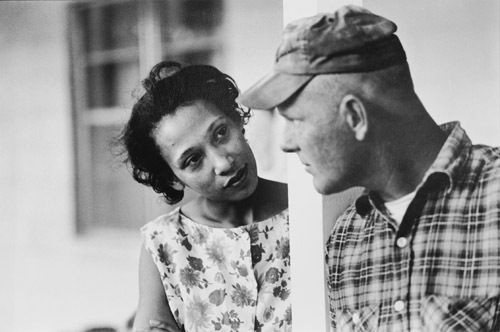 Mildred and Richard Loving fought for the right for their marriage to be legally recognized in Virginia, leading to the Supreme Court case Loving v. Virgina. Credit: the Estate of Grey Villet.
