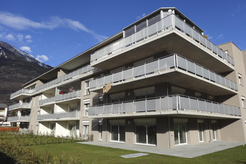 Vue balcons et terrasse