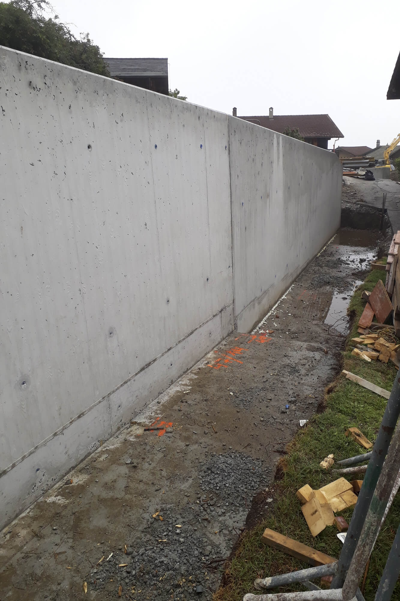 Mur apparent (structoplan)