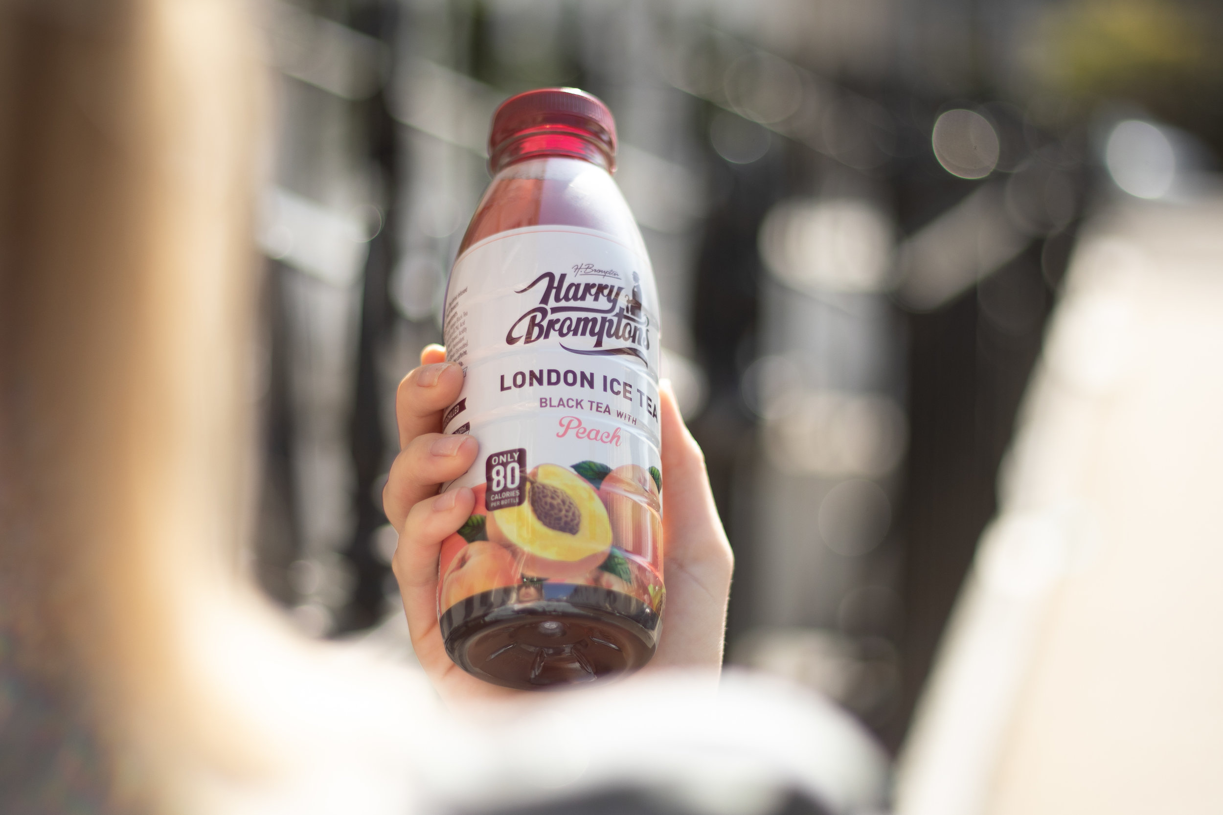 Harry Brompton'sLondon Ice TeaAll Natural. All Good! - We use the finest blend of Kenyan black tea infused with high quality fruits; the perfect way to enjoy naturally healthy refreshment on the go.