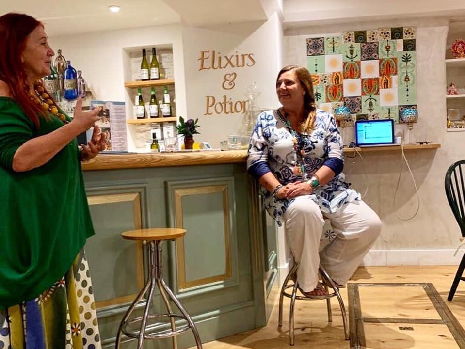 Lynne in-conversation with the brilliant priestess of the sacred voice Stellar Fairbairn.