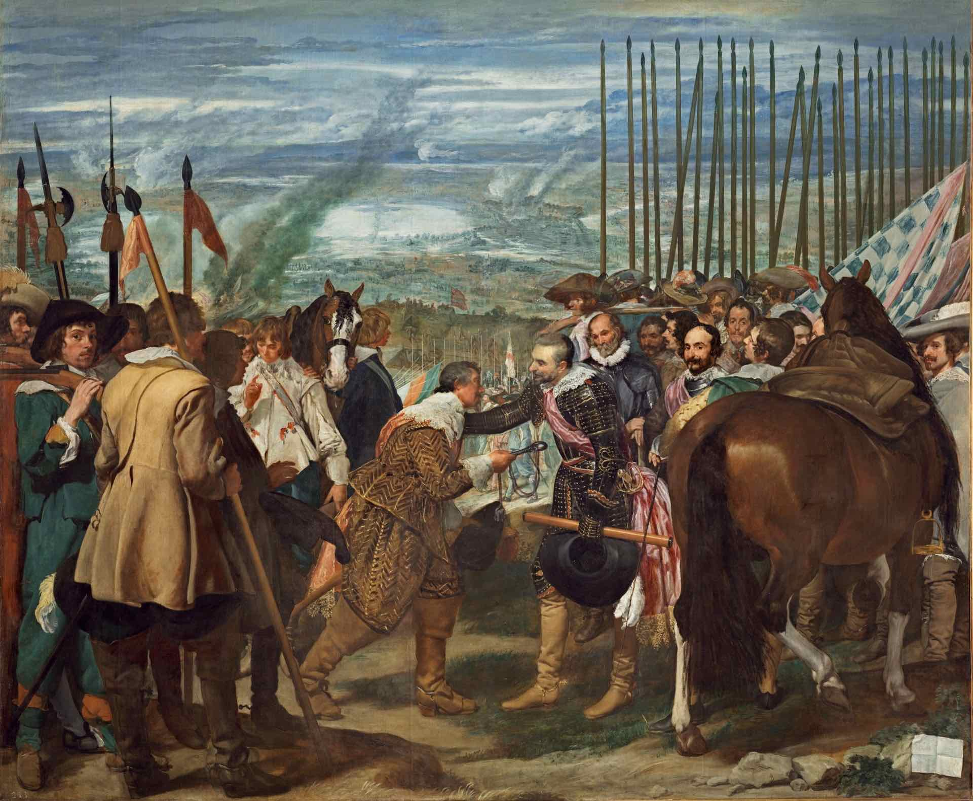 [1635] De overgave van Breda van Diego de Velázquez - Prado Museum Madrid