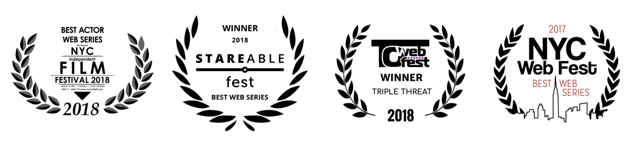 THE FEELS, a queer web series, has won best actor in a web series (tim manley) at nyc independent film festival, best of stareable fest at stareable fest, triple threat auteur at toronto web fest (tim manley: writer, director, actor), and best web series at nyc web fest.