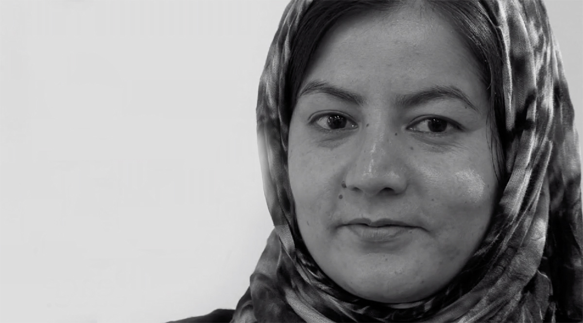 Film for the 'No Women, No Peace' campaign. Filmed at Amnesty International in London