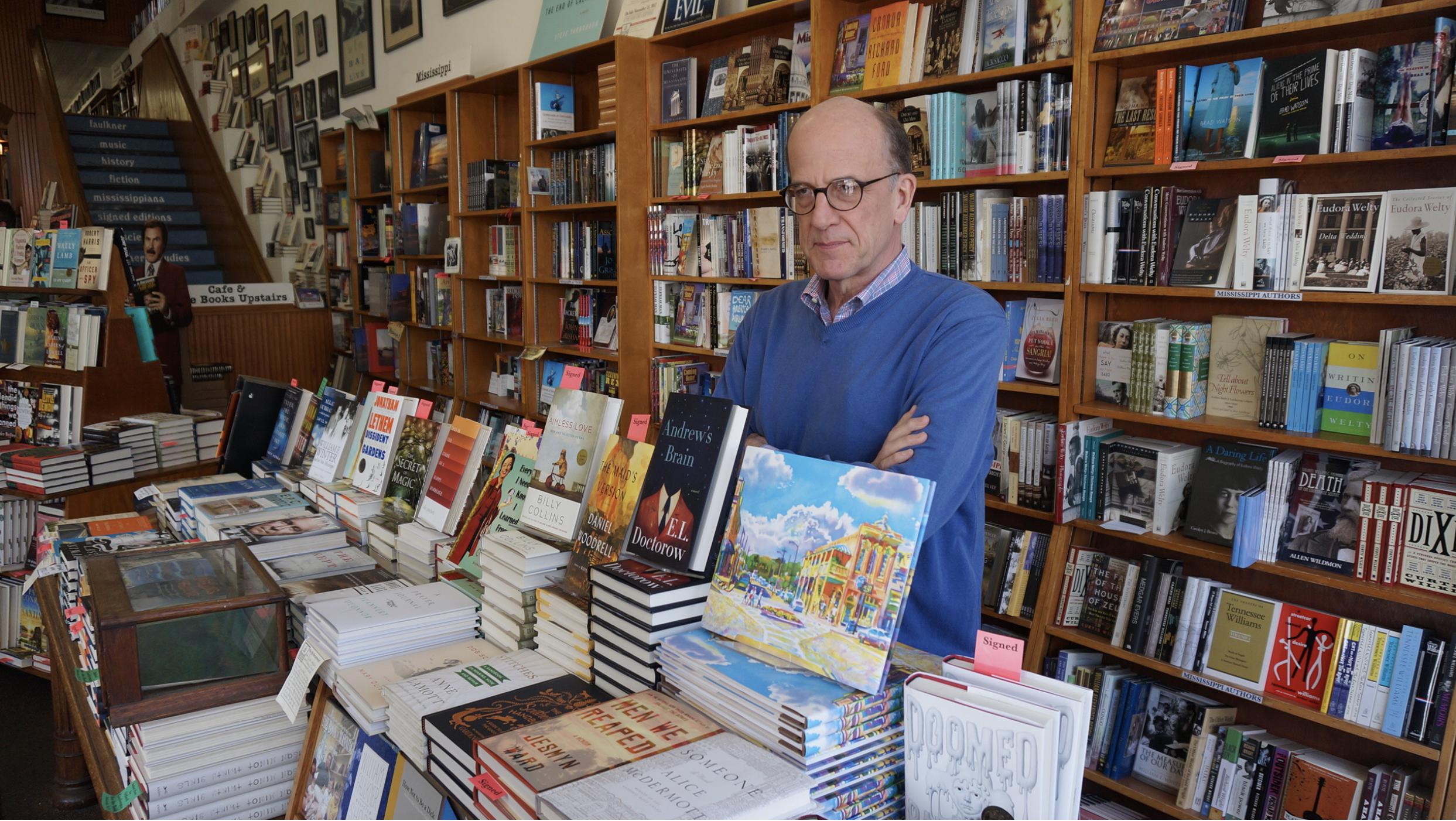 Richard Howorth, Square Books, Oxford, Mississippi