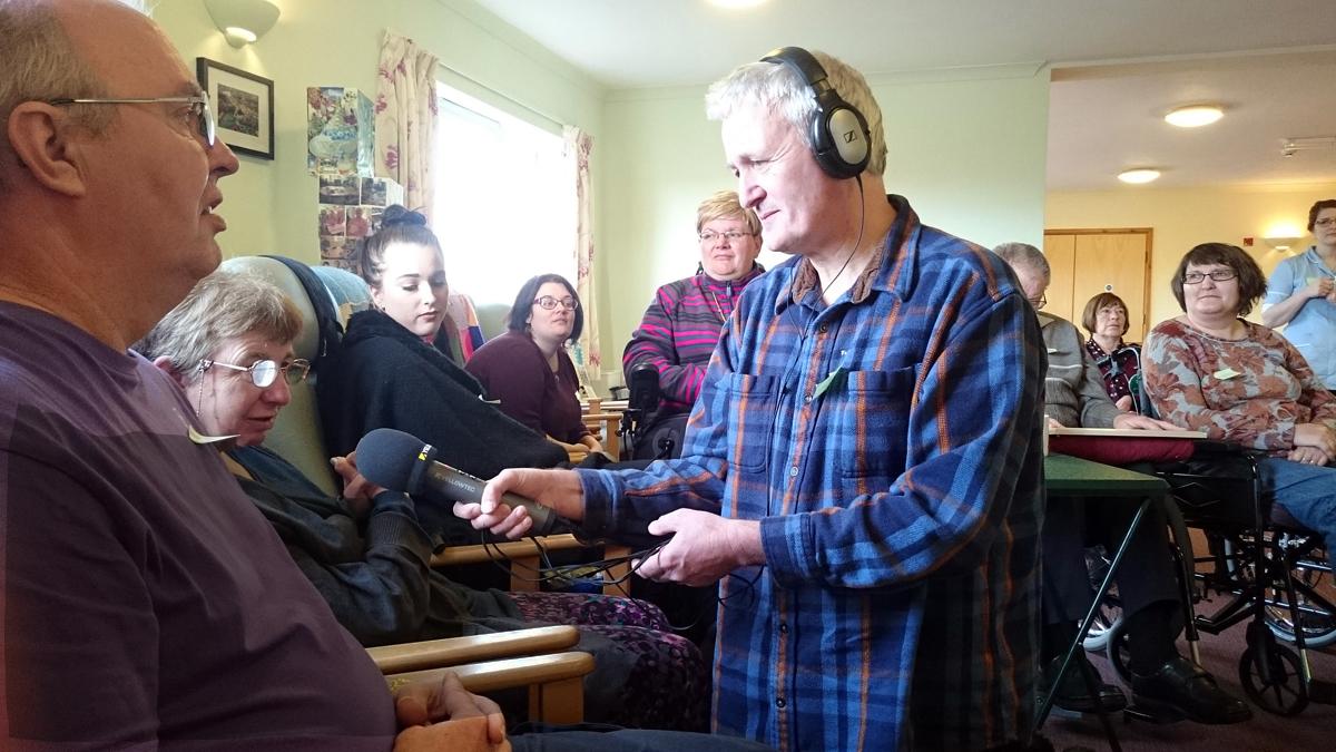 Story recording at Tiverton