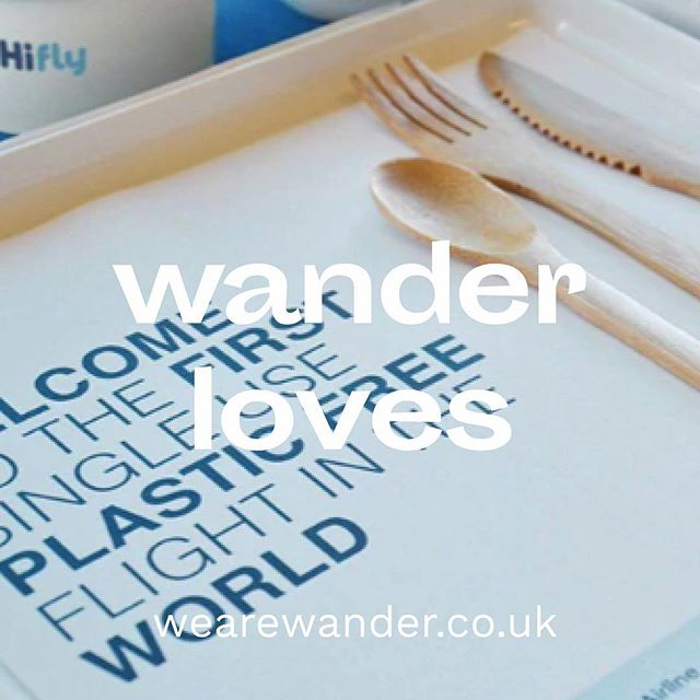 Wander loves.... Sustainability  The Portuguese airline recently ran a test flight without any single-use plastics, making it the first commercial airline to do so. HiFly, which has three more test flights planned, hopes to ban single-use plastics from its planes entirely by the end of 2019. Instead, passengers will use bamboo cutlery and compostable food containers made by Vegware, or other plant-based or recycled materials. While HiFly is the first airline to pledge to eliminate single-use plastics from its services, other carriers such as Air New Zealand, Delta Air Lines and American Airlines have begun phasing them out. . . . . . . #JobSearch #JobHunt #Hiring #NowHiring #Job #Jobs #Careers #Employment #HR #HumanResources #graduate #lifeisajourney #wearewander #wanderer #wander #travel #adventure #wanderlust #vacation #travelgram #explore #holiday #travels #traveler #traveller