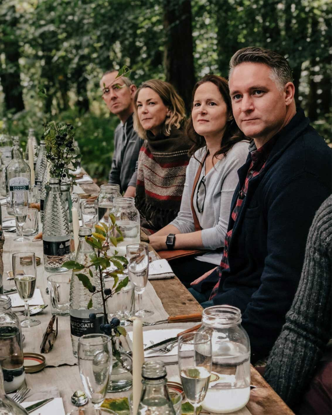 FIRE + WILD gin workshop, East Sussex, Wild cocktails, Forage and Feast