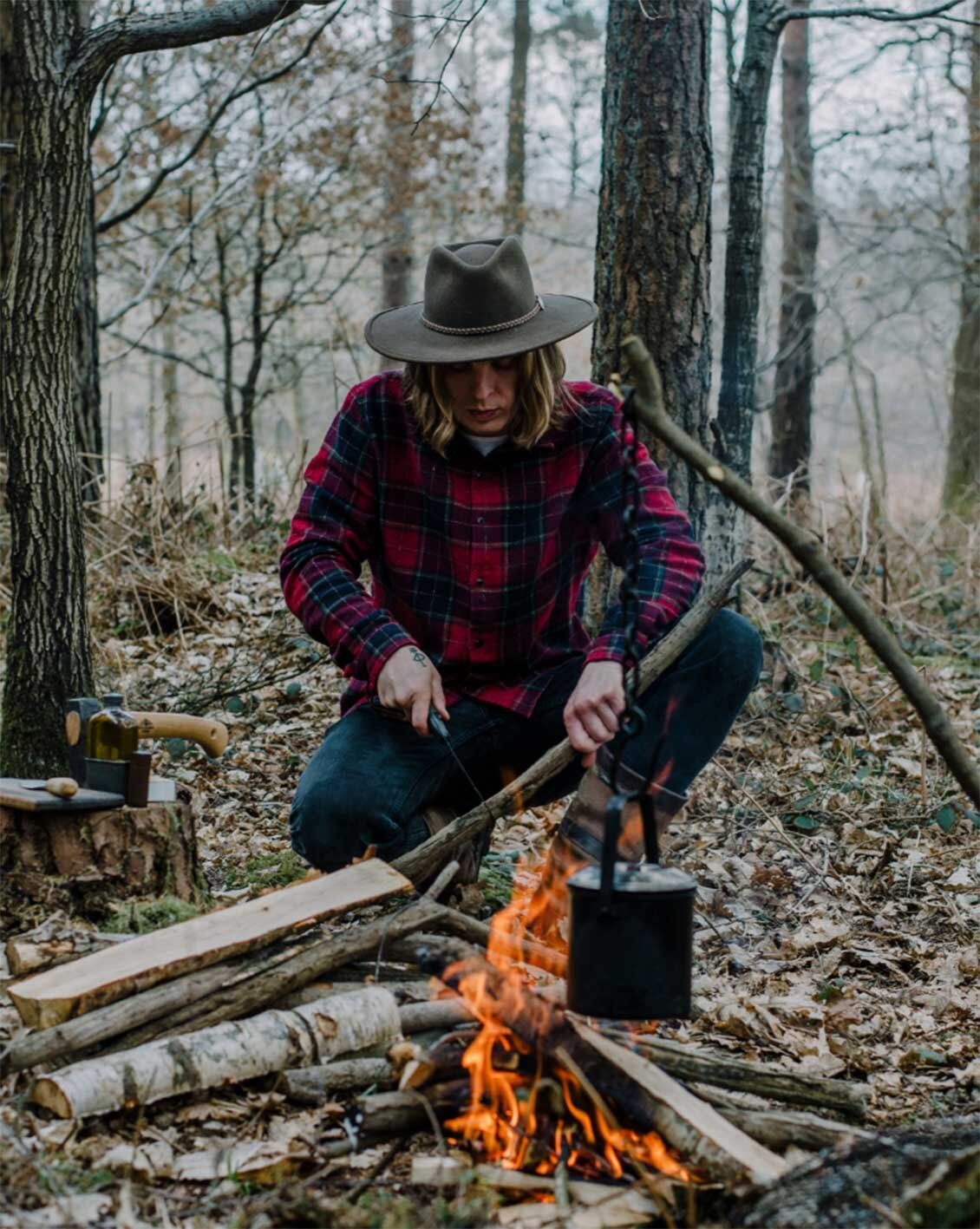 FIRE + WILD, cooking with fire, campfire cooking, East Sussex, Forage and Feast