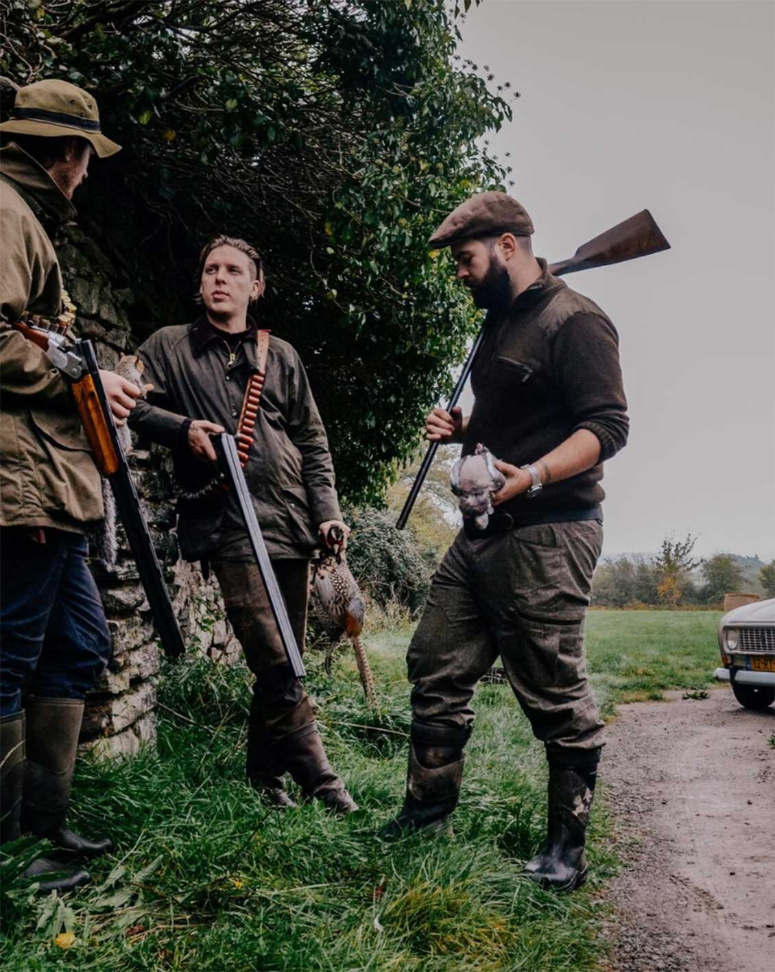 FIRE + WILD, forage and hunt, East Sussex Hunting