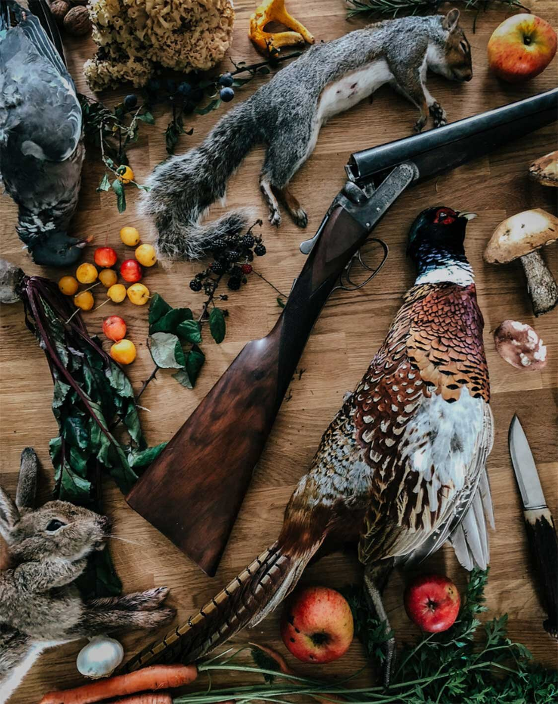 FIRE + WILD, Autumn, Feast and Forage, East Sussex