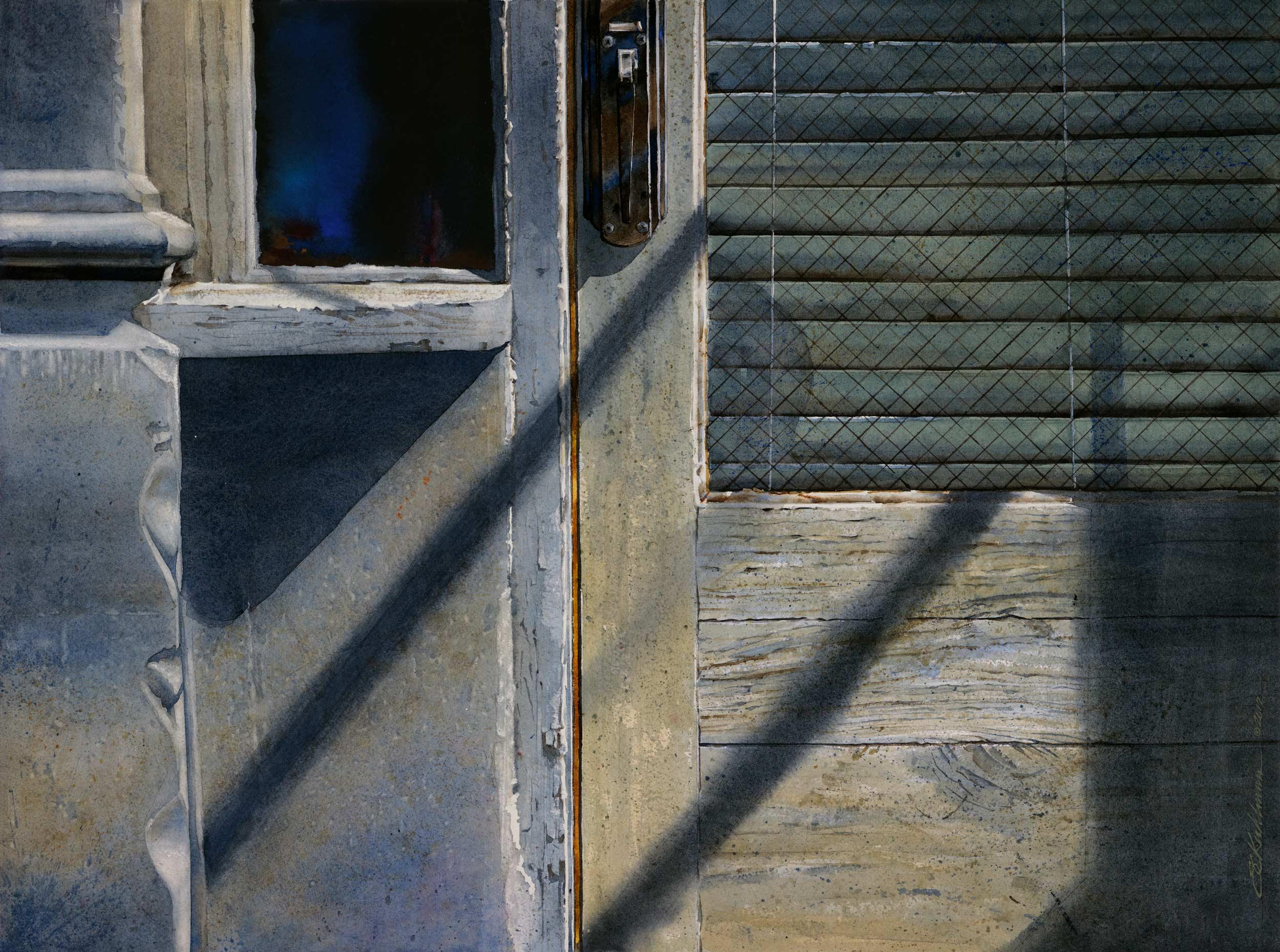 Shadowed Entry