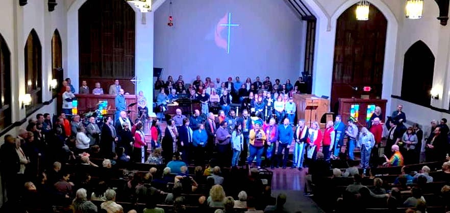 Still Beloved service at Royal Oak First UMC, March 3, 2019