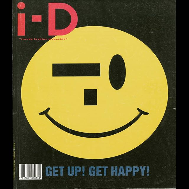 What was your magazine of choice? 🤔⁣ ⁣ A #Saturday of reminiscing brought up the subject of ID! I had this edition cover from 1987 on the wall in my student digs! I don't own a copy anymore but remember it's edgy fashion and electronic music editorial 🙏