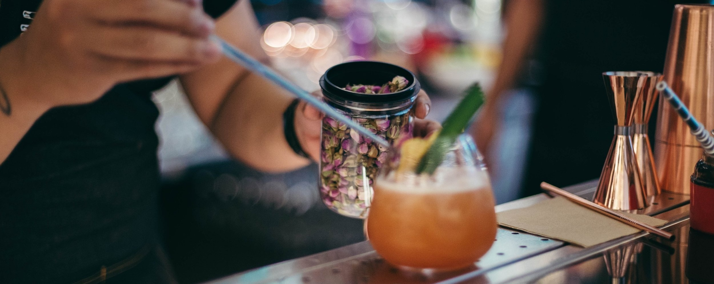 Le Sweetbar-  Service cocktail - événement
