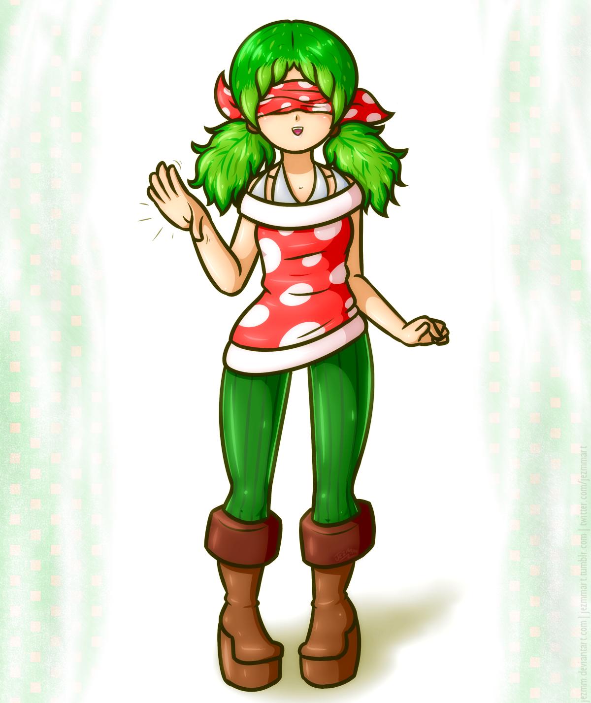 Pirahna Plant Girl