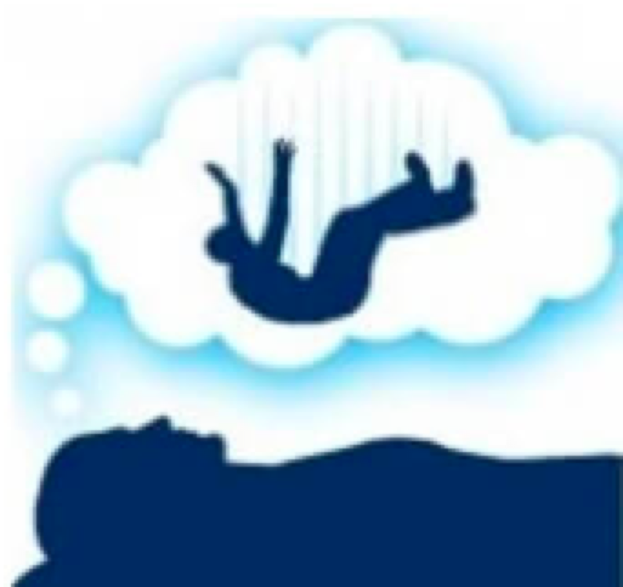 Sense of falling is common in Stage 1. Picture from  www.fleethoistics.co.uk