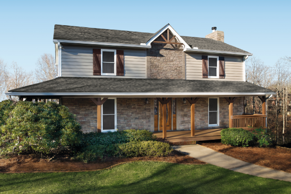 stone veneer accents - Add beautiful detail to your home's exterior with a mortarless, cement-based product that recreates the beauty and craftsmanship of authentic stone masonry.