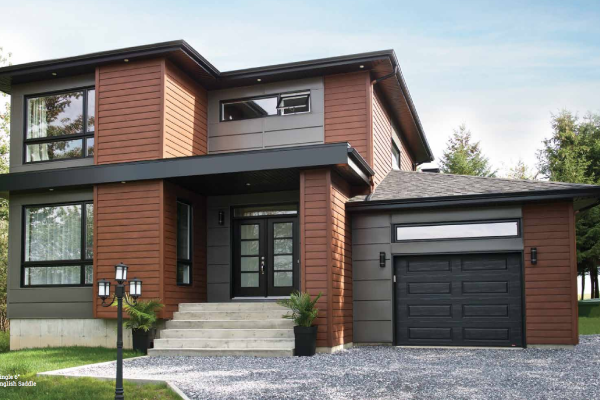 wood-look steel siding - The advanced carbon reinforced steel technology used to produce this metal siding truly gives the look of wood siding with the performance that will last for the life of your home.