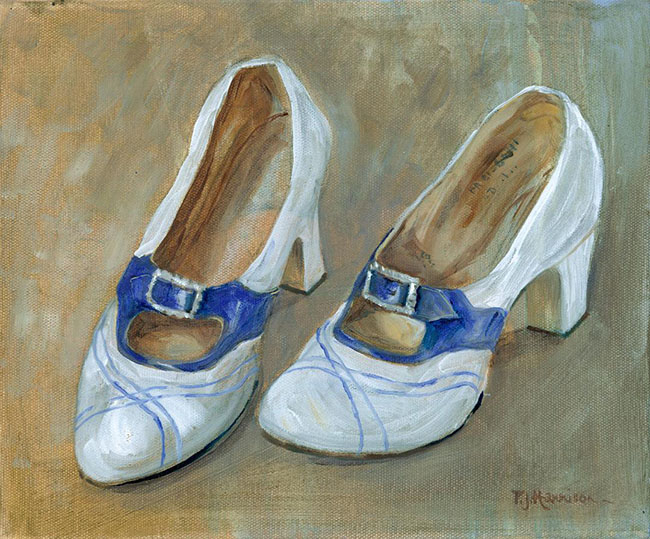 "My Shoes 14.5"" x 16"" £200"