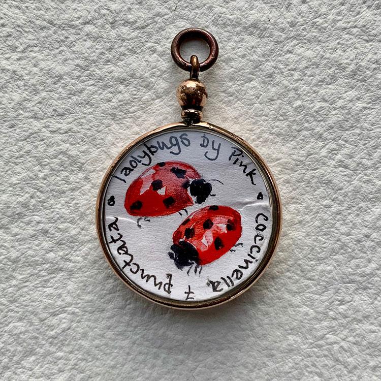 & Ladybugs £180 3 x 2.5cm