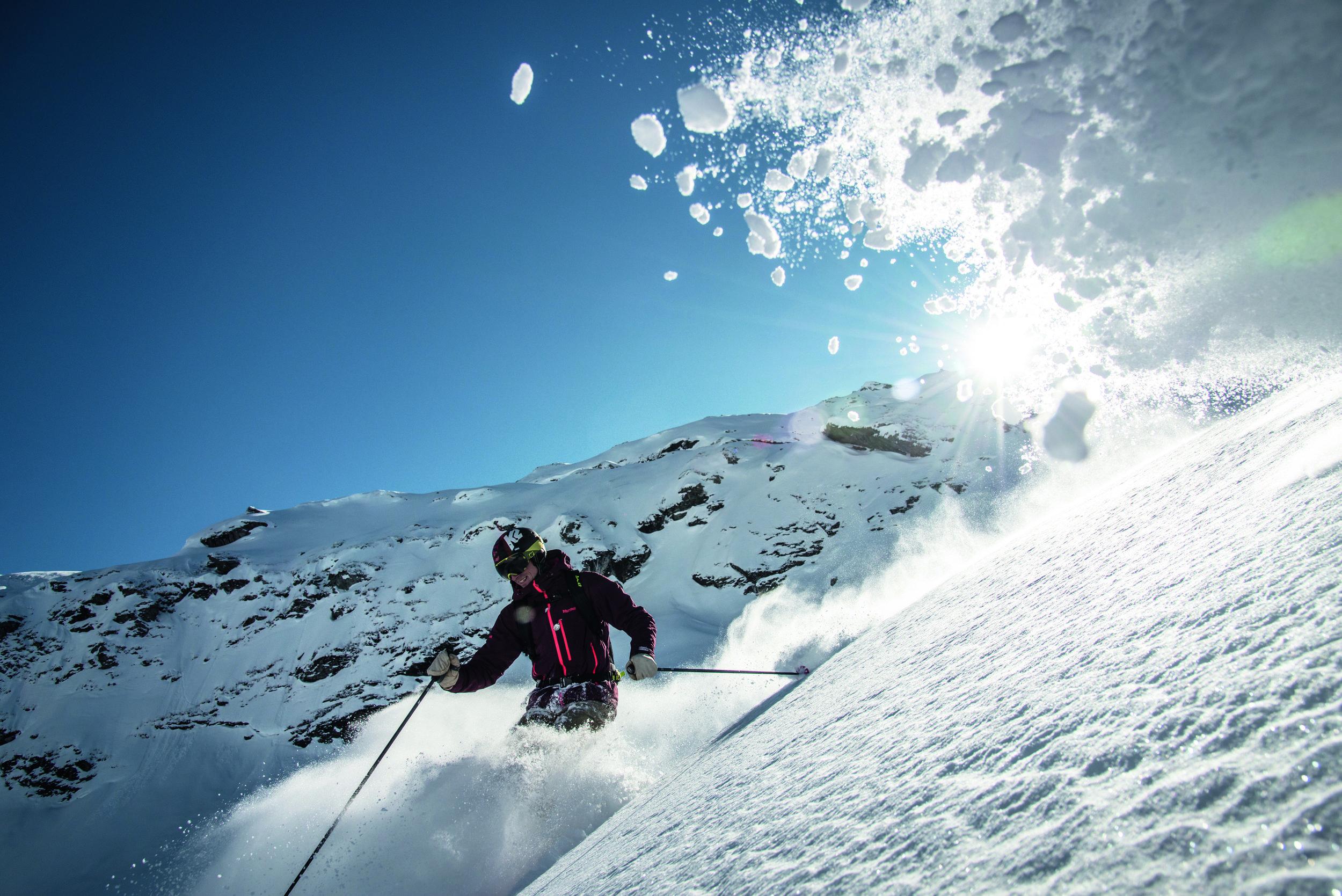 Verbier ski hire -