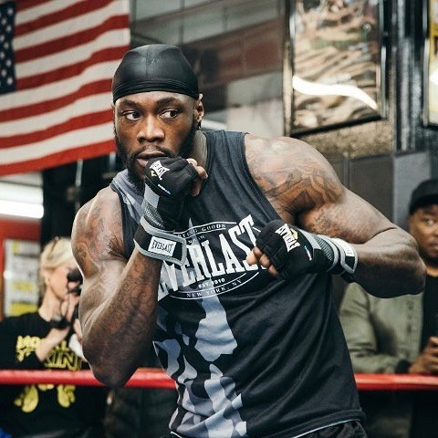 Time for some Monday motivation! Check out Deontay Wilder sporting our tank from the Everlast Spring Collection. What motivates you? 💪🏼💪🏽💪🏿 * * * #everlast #wbcheavyweight #bronzebomber #monday #motivation #ziel #sustainablefashion #ecofriendly #ondemandmanufacturing #newyork #nyc #upstateny #activewear #apparel #fashion #design #sizeinclusivity #technology #brands #poweredbyziel