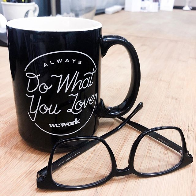 Happy Friday! At Ziel, our team always does what we love. We appreciate all the support we receive from WeWork in NYC. Plus, their mugs are pretty cute! * * * #wework #morningcoffee #workhard #friday #ziel #sustainablefashion #ecofriendly #ondemandmanufacturing #newyork #nyc #upstateny #activewear #apparel #fashion #design #sizeinclusivity #technology #brands #poweredbyziel