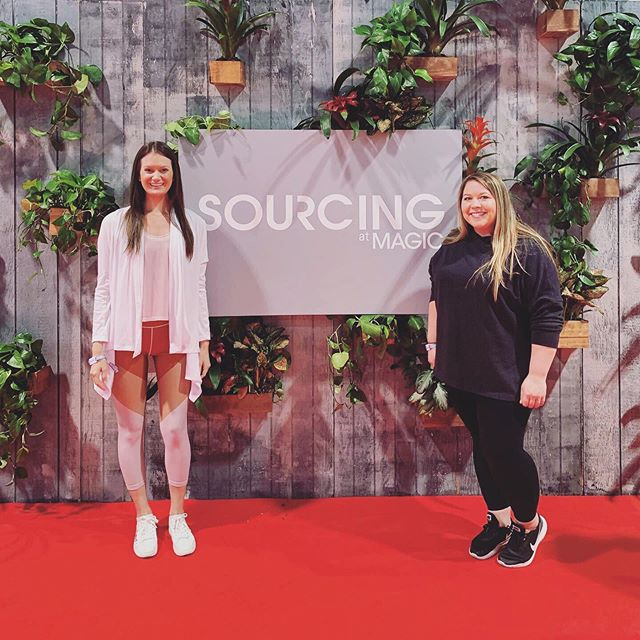 Where all the magic happens ✨💫 Come visit us in our booth, 102516 * * * #magic #sourcing #convention#lasvegas #sustainablefashion#ecofriendly #ondemandmanufacturing#newyork #nyc #activewear #apparel#fashion #design #sizeinclusivity#diversity #technology #brands#poweredbyziel