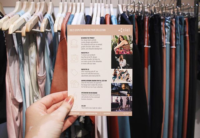 Day two of @active_collective NY! Come see us in Booth #6 and let us share with you our on-demand, size-inclusive, sustainable apparel. Also, look out for our @shopjadeandjude Fall 2019 collection! * * * #activecollective #tradeshow #NYC #sustainablefashion #ecofriendly #ondemandmanufacturing #sizeinclusivity #newyork #technology #apparel #poweredbyziel