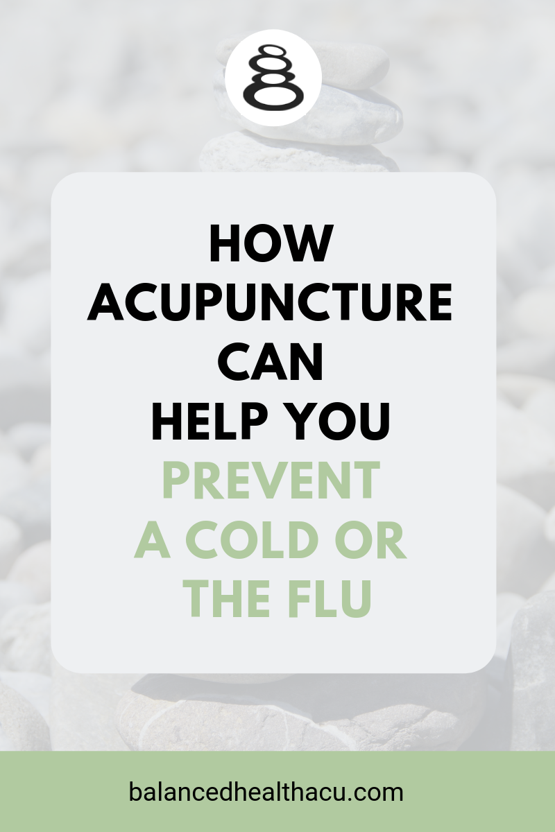Wouldn't it be great to prevent your next cold or flu? You CAN with acupuncture! Learn how acupuncture can strengthen your immune system and learn how to practice acupressure on the acupuncture point Stomach 36 to keep you healthy during cold and flu season.
