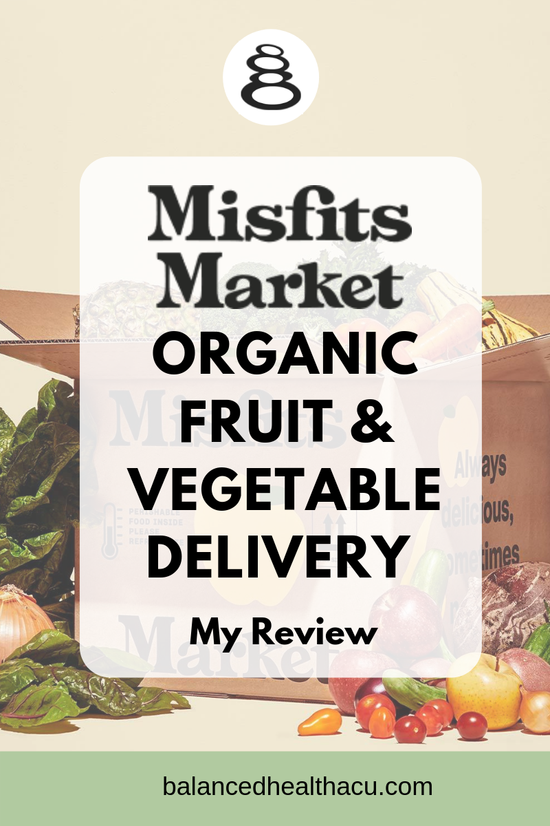 Looking for an organic fruit and vegetable delivery service? Look no further than Misfits Market. They deliver fresh, organic, non-GMO fruits and vegetables straight to your door at an affordable price. Check out my first box of produce and my review.