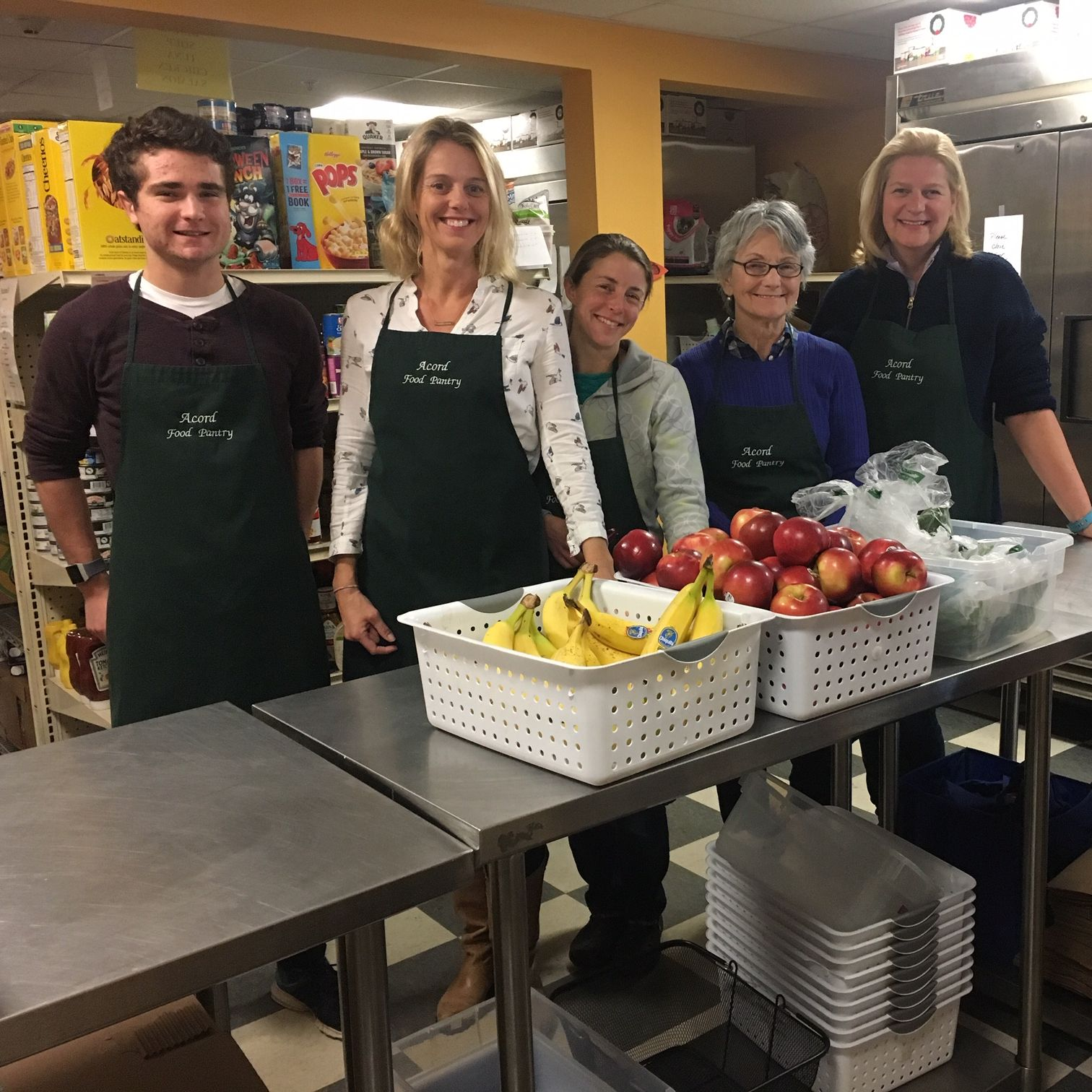 Client visits to the pantry increased an average of 8% in 2018. This includes 99 families who visited Acord for the first time. -