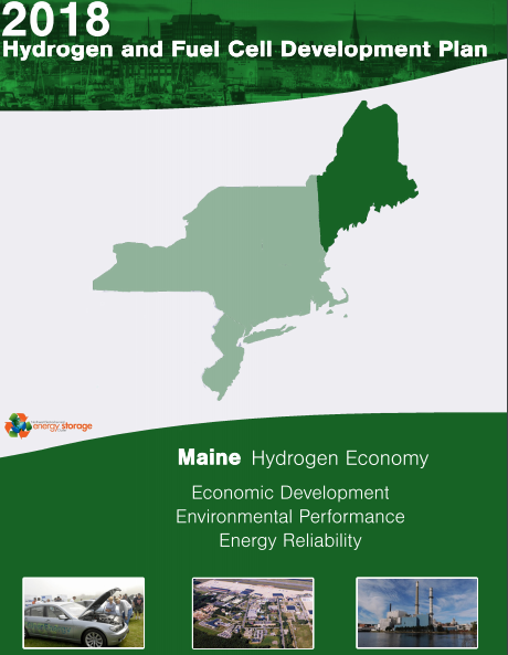 2018 Maine Hydrogen and Fuel Cell Development Plan