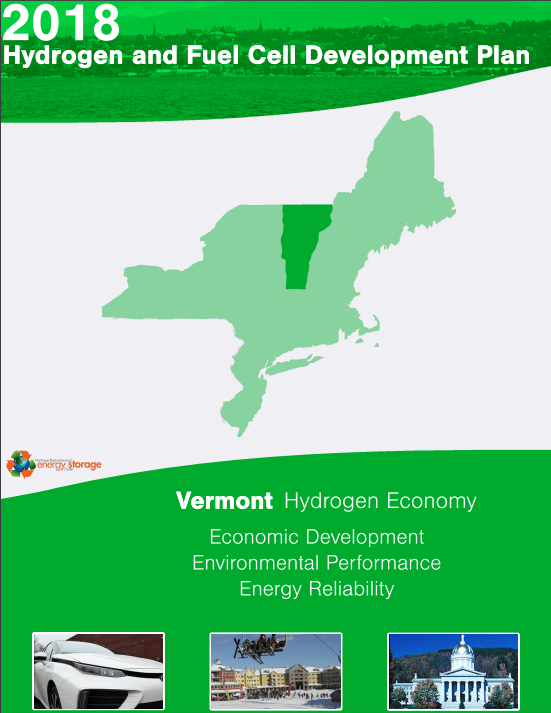 2018 Vermont Hydrogen and Fuel Cell Development Plan