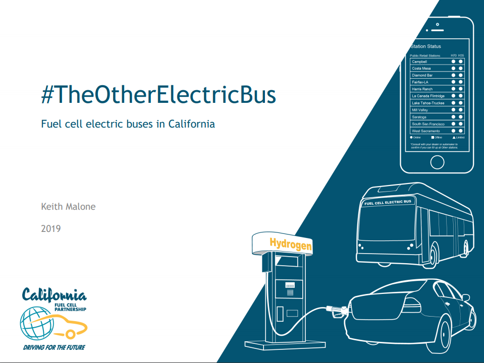 Fuel Cell Buses in California (CaFCP, 2019)