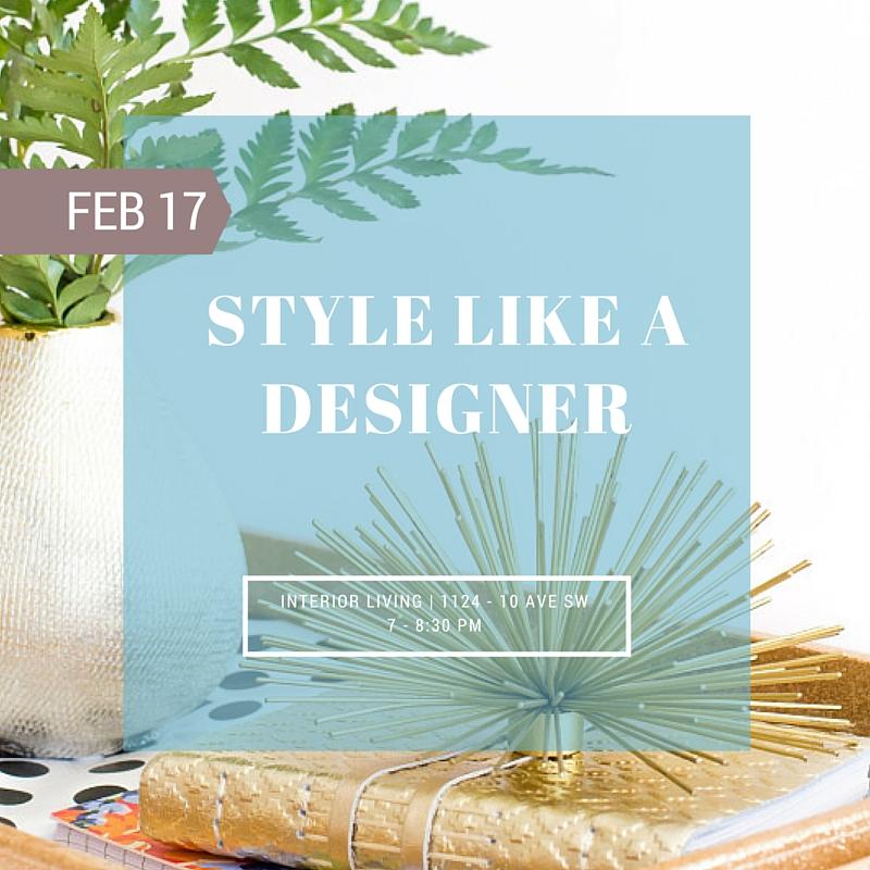 Style Like a Designer