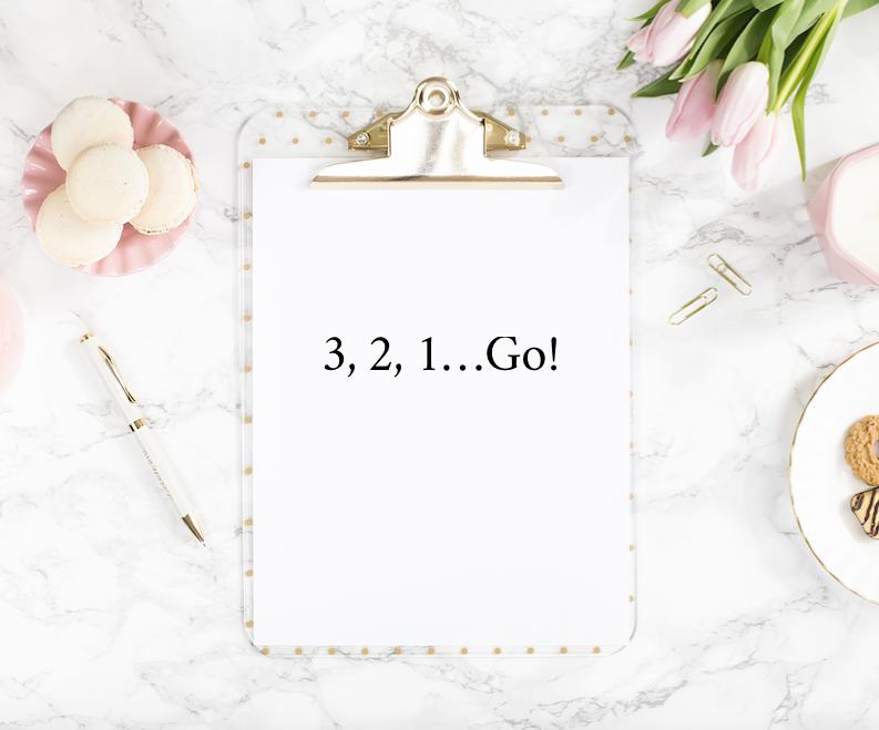 3, 2, 1...Go!