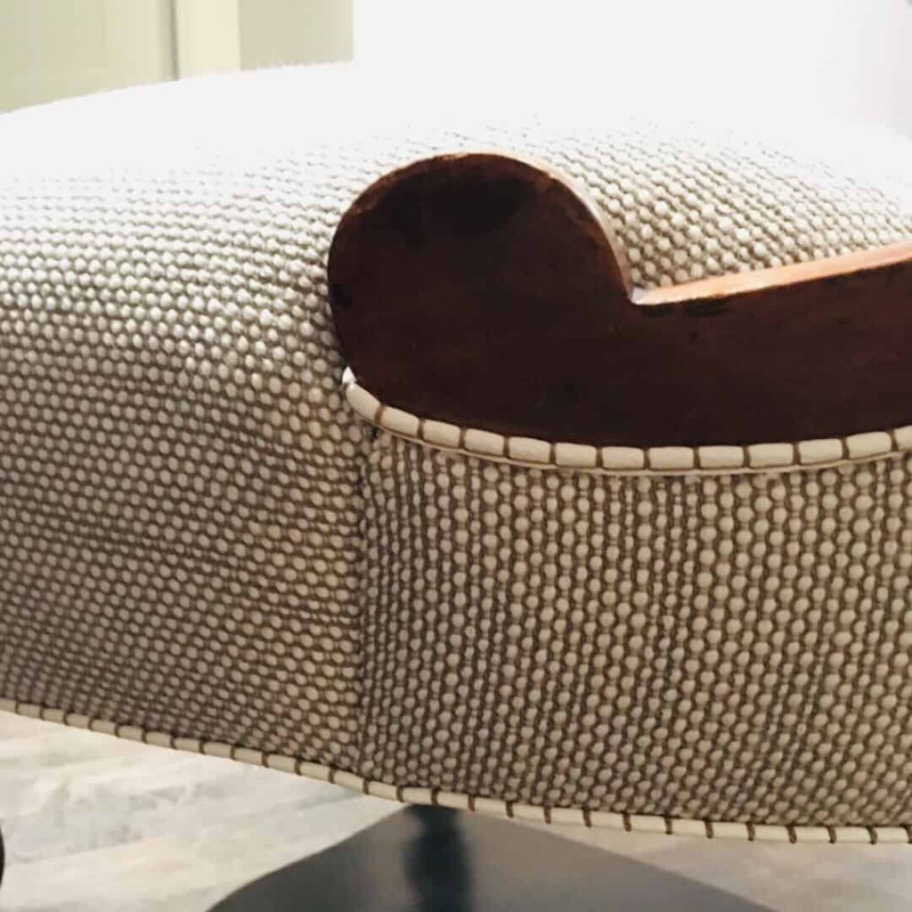Chair Upcycle Detail