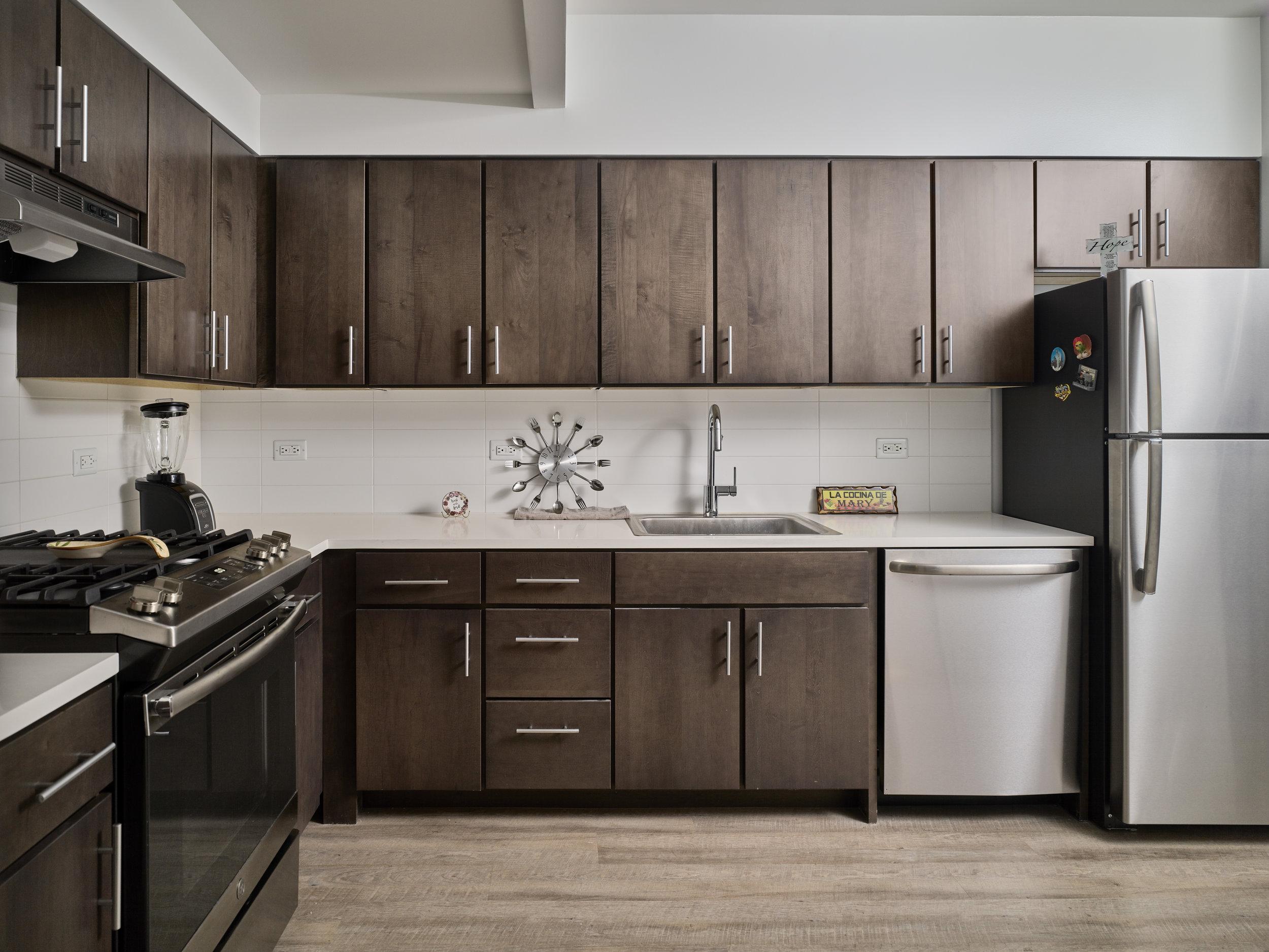Typical Unit Kitchen