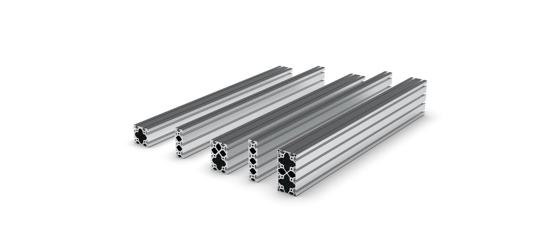 Passend zu… - 160x80, 160x40, 120x80, 120x40, 80x80Wählen sie Ihre Aluminiumprofile einfach danach aus, welches Budget Ihnen zur Verfügung steht.Upgraden Sie einfach später!