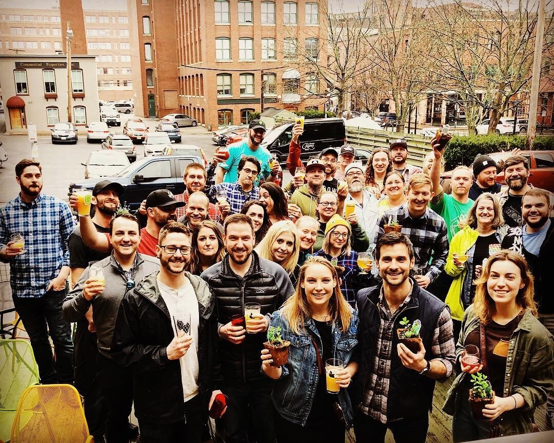 Maine Brewshed Alliance at Thirsty Pig.JPG