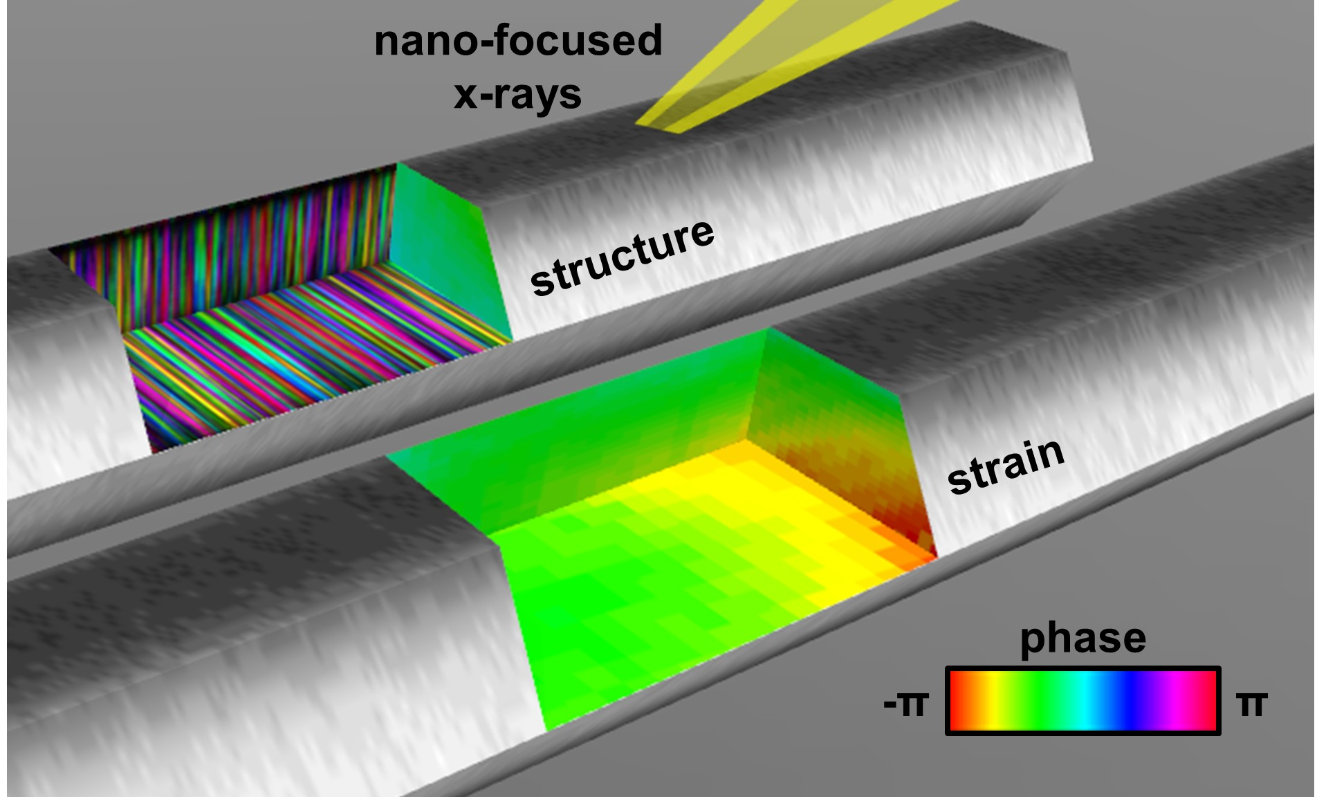 Imaging strain and structure in nanowires using multiangle Bragg Projection Ptychography