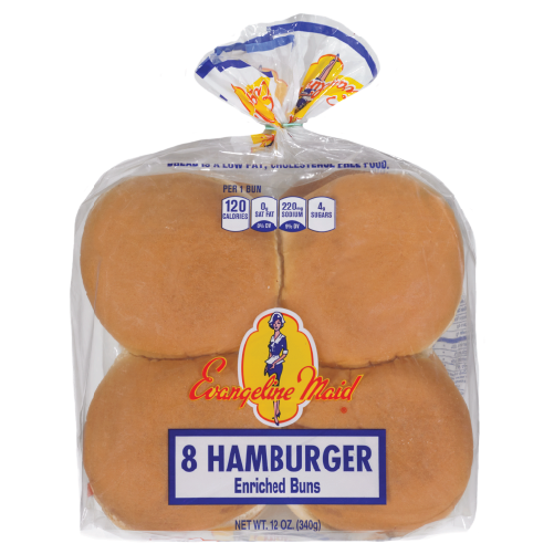 8ct Hamburger Buns