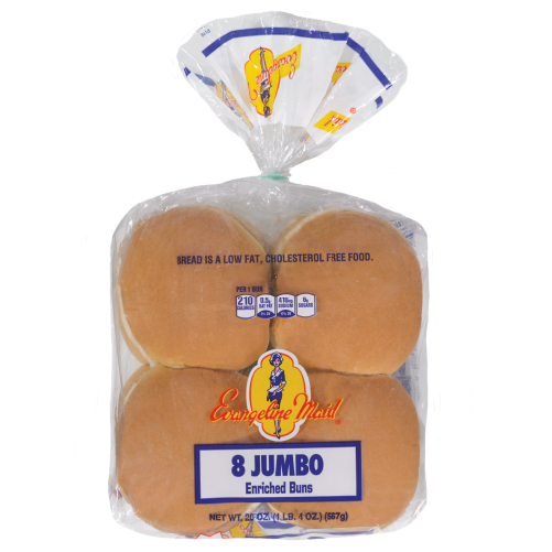 8ct Jumbo Hamburger Buns