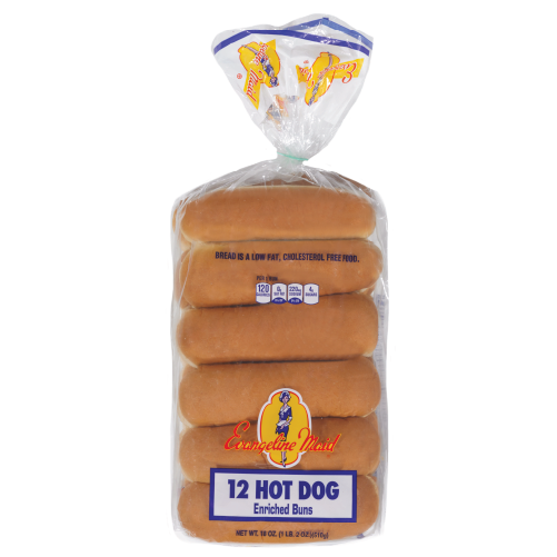 12ct Hot Dog Buns