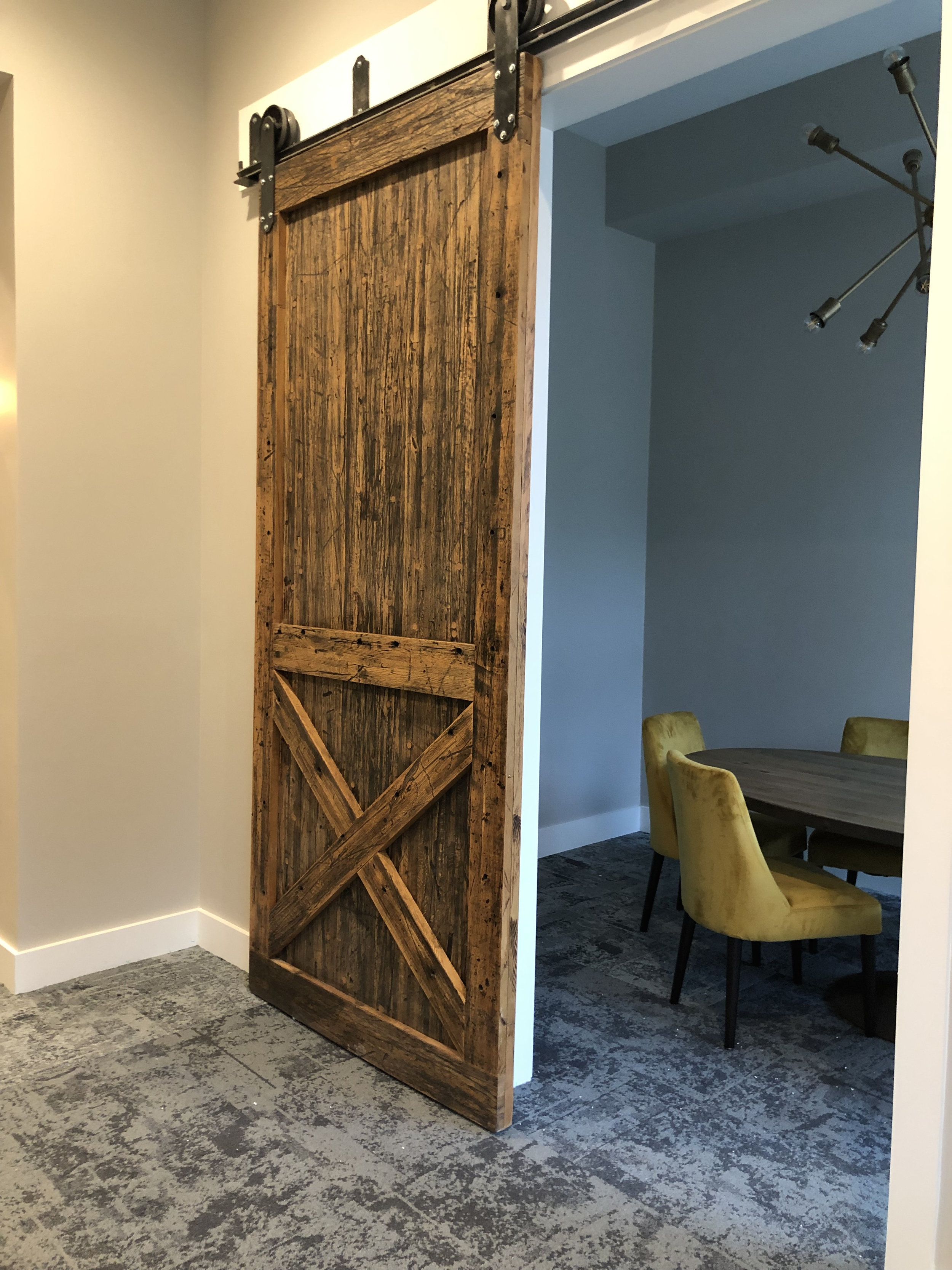 Sliding Barn Doors - Custom Made: Rustic & Modern