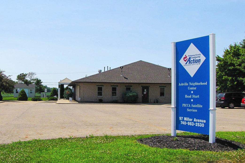 Ashville Neighborhood Center   97 Miller Ave. Ashville, OH 43103  (740) 983-2530